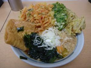 のせ放題蕎麦2