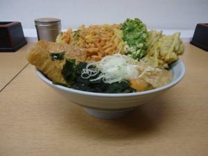 のせ放題蕎麦3
